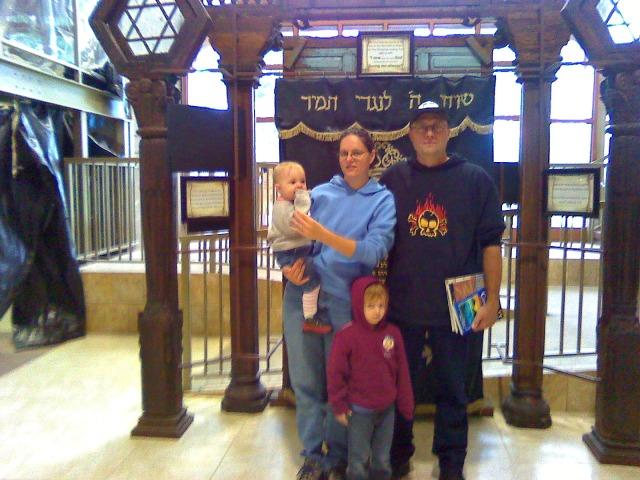 My family, circa 2009