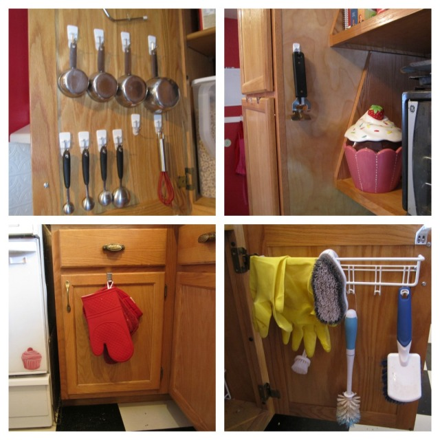 kitchen hooks Collage