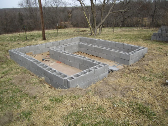 One raised bed down, one to go.  We hope to be able to use these as temporary greenhouses in early spring and late fall, and as regular raised beds during the growing season.
